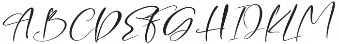 Breathe Me Script Regular otf (400) Font UPPERCASE