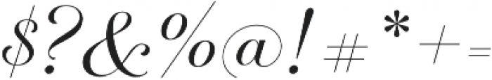 Breathe Neue Small Regular otf (400) Font OTHER CHARS