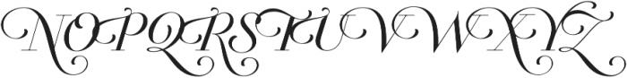 Breathe Neue Small Regular otf (400) Font UPPERCASE