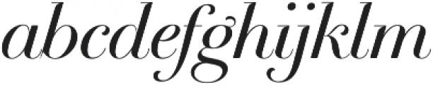 Breathe Neue Small Regular otf (400) Font LOWERCASE