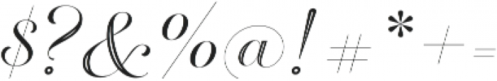 Breathe Neue Special Regular otf (400) Font OTHER CHARS