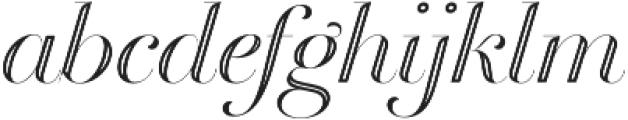 Breathe Neue Special Regular otf (400) Font LOWERCASE