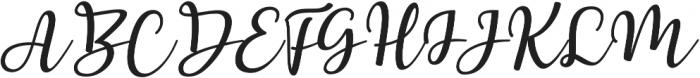 Breetty otf (400) Font UPPERCASE