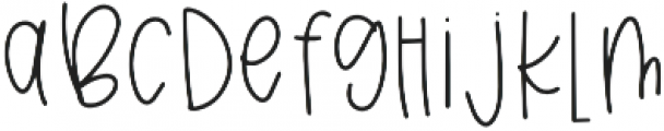 Breezily otf (400) Font LOWERCASE