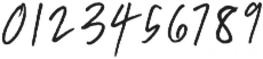 Breezy Sunday Script Font otf (400) Font OTHER CHARS