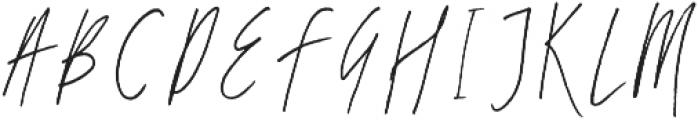 Breezy Sunday Script Font otf (400) Font UPPERCASE