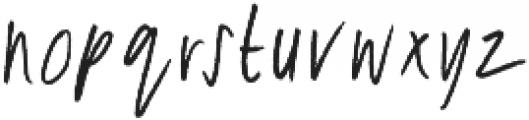 Breezy Sunday Script Font otf (400) Font LOWERCASE