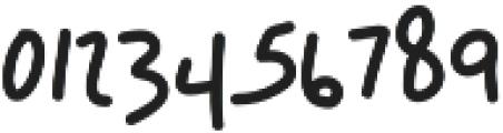 Breezy otf (400) Font OTHER CHARS