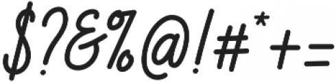 Breital otf (400) Font OTHER CHARS