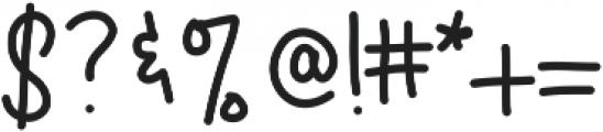 Bren ttf (400) Font OTHER CHARS