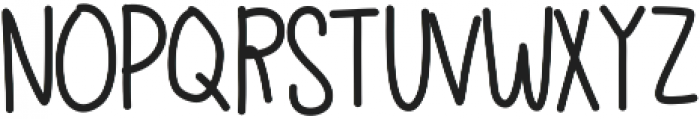 Bren ttf (400) Font LOWERCASE