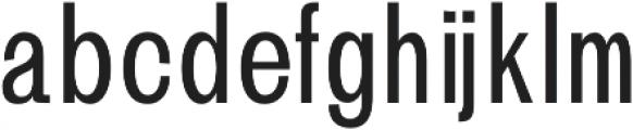 Brendon otf (400) Font LOWERCASE
