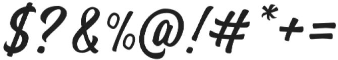 Brentha otf (400) Font OTHER CHARS