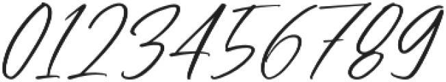 Bresley otf (400) Font OTHER CHARS