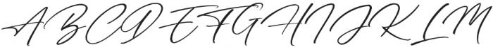 Bresley otf (400) Font UPPERCASE