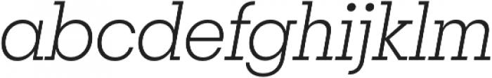 Breton Light It otf (300) Font LOWERCASE
