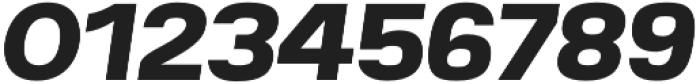 Breul Grotesk A Bold Italic otf (700) Font OTHER CHARS