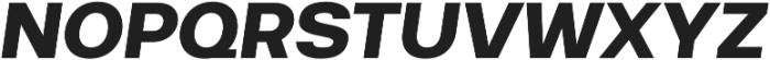 Breul Grotesk A Bold Italic otf (700) Font UPPERCASE