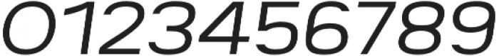 Breul Grotesk A ExtraLight Italic otf (200) Font OTHER CHARS