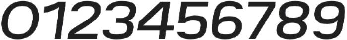 Breul Grotesk A Light Italic otf (300) Font OTHER CHARS