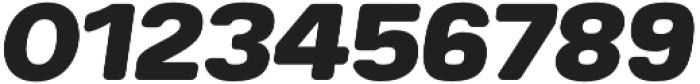 Breul Grotesk B Heavy Italic otf (800) Font OTHER CHARS