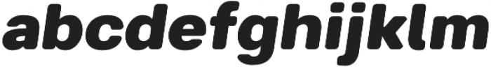 Breul Grotesk B Heavy Italic otf (800) Font LOWERCASE