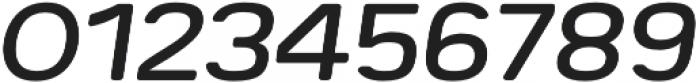 Breul Grotesk B Light Italic otf (300) Font OTHER CHARS