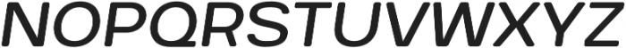 Breul Grotesk B Light Italic otf (300) Font UPPERCASE
