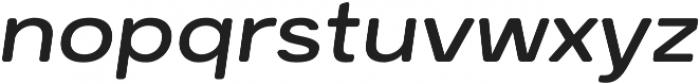 Breul Grotesk B Light Italic otf (300) Font LOWERCASE