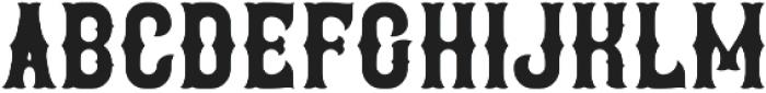 Brewery Regular otf (400) Font UPPERCASE