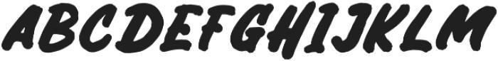 Bricktoms otf (400) Font UPPERCASE