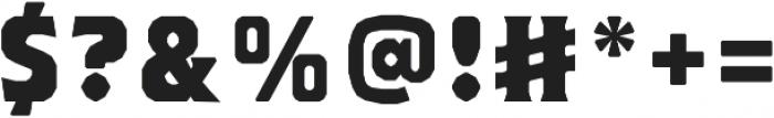 Brickton otf (400) Font OTHER CHARS