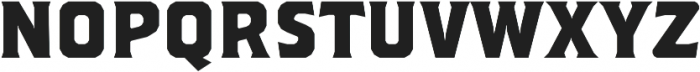 Brickton otf (400) Font LOWERCASE