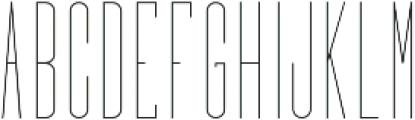 Bridal Short SemiLight otf (300) Font LOWERCASE
