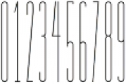 Bridal Tall SemiBold otf (600) Font OTHER CHARS