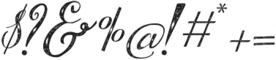 BrideChalk script otf (400) Font OTHER CHARS