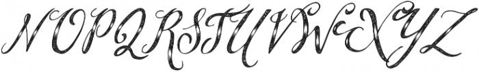 BrideChalk script otf (400) Font UPPERCASE