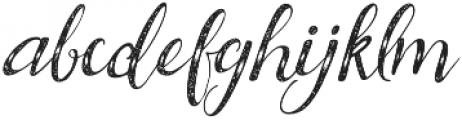 BrideChalk script otf (400) Font LOWERCASE