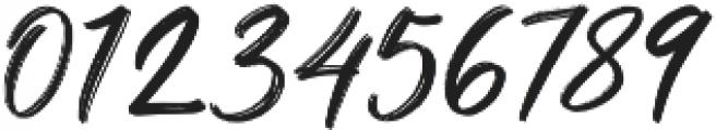 Brighnesy otf (400) Font OTHER CHARS