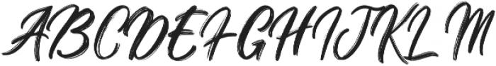 Brighnesy otf (400) Font UPPERCASE