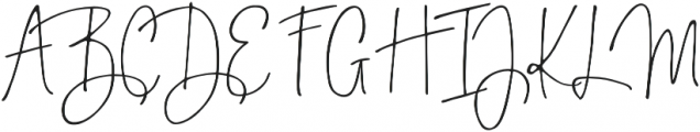 Bright Side otf (400) Font UPPERCASE