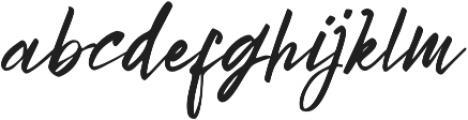 Bright Sunshine otf (400) Font LOWERCASE