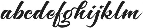 Brighten Round otf (400) Font LOWERCASE