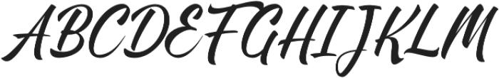 Brighten otf (400) Font UPPERCASE