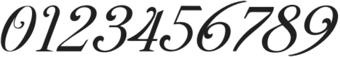 Brightooms-Italic otf (400) Font OTHER CHARS