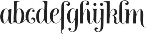 Brightooms otf (400) Font LOWERCASE