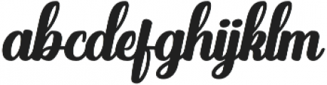 Brights Diamond Regular Italic otf (400) Font LOWERCASE