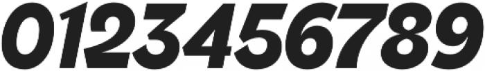 Brightwell Black Italic otf (900) Font OTHER CHARS