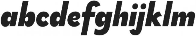 Brightwell Black Italic otf (900) Font LOWERCASE