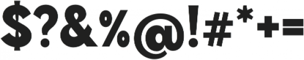 Brightwell Black otf (900) Font OTHER CHARS
